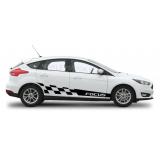 Спортивные полосы на Форд Фокус 3 , вид 15