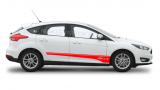 Комплект акцентных полос на борт Форд Фокус 3 , вид 7