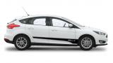 Акцентные полосы на бока Форд Фокус 3 , вид 9
