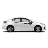 Акцентные полосы на двери Mazda 3, вид 6