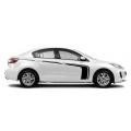 Акцентные полосы на борт Mazda 3, вид 7