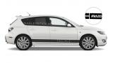 Комплект полос MazdaSpeed на борт Mazda 3, вид 3