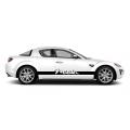 Комплект спортивных полос Miata на борт Mazda RX-8, вид 2