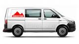 "Наклейка ""Горы"" на Volkswagen Transporter Rockton"