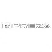 "Наклейка на авто ""Impreza"""
