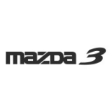 "Наклейка на авто ""Mazda 3"""
