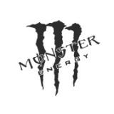 """Наклейка на авто """"Monster energy"""""""