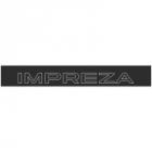 """Наклейка полоса """"Impreza"""" на лобовое стекло 130 х 18 см"""