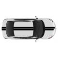 Спортивные полосы на Mazda 3 седан, вид 10