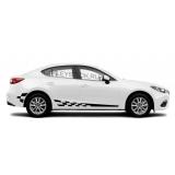 Спортивные полосы на борт Mazda 3 седан, вид 9