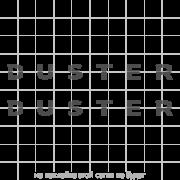 "Комплект наклеек ""Duster"" на рейлинги Рено Дастер, вид 2"
