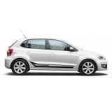 Акцентные полосы на Volkswagen Polo, вид 4
