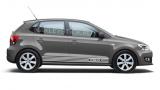 Акцентные полосы на Volkswagen Polo, вид 5