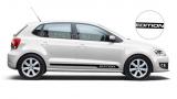 Спортивные полосы на Volkswagen Polo, вид 8