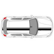 Комплект спортивных полос на BMW 1, вид 2
