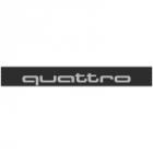"""Наклейка полоса """"Quattro"""" на лобовое стекло 140 х 18 см"""