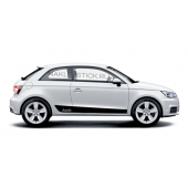 Акцентные полосы на Audi A1/S1 hatchback, вид 4