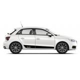 Акцентные полосы на двери Audi A1/S1 sportback, вид 3