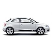 Спортивные полосы на Audi A1, вид 1