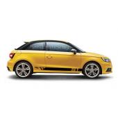 Спортивные полосы на Audi S1, вид 1