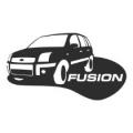"""Наклейка на авто """"Форд Фьюжн"""""""
