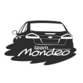 """Наклейка на авто """"Форд Мондэо"""""""