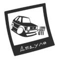 "Наклейка на авто ""Фольскваген GTI 1980"""