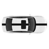 Спортивные полосы на Audi A6 седан, вид 1