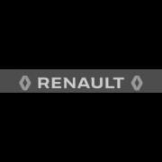 """Наклейка полоса """"Renault"""" на лобовое стекло 130 х 18 см"""