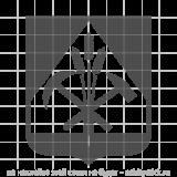"""Наклейка на авто """"Малый герб Кемеровской области"""""""