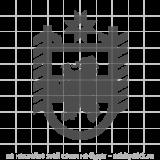 """Наклейка на авто """"Герб Республики Карелия"""""""