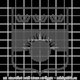 """Наклейка на авто """"Малый герб Тюменской области"""""""