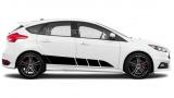 Акцентные полосы на Форд Фокус, вид 16