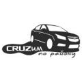"""Наклейка Chevrolet Cruze """"Крузим по району"""""""