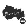 """Наклейка на авто """"Регион 54. Новосибирск"""""""