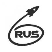 """Наклейка на авто """"RUS. Первый в космосе"""""""