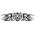 """Наклейка на авто """"Тигр"""""""