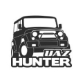 "Наклейка на авто ""УАЗ Хантер"""