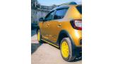 """Наклейки """"Спортивная графика"""" на борт Renault, вид 5"""