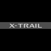 "Наклейка полоса ""Nissan X-Trail"" на лобовое стекло 140 х 18 см"
