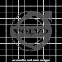 """Наклейка эмблема """"Volvo"""" на грузовики серии FH"""
