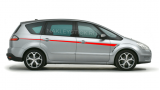 Акцентные полосы на борт Ford S-max, вид 1