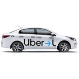 """Комплект наклеек """"Uber"""" на такси"""