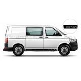 """Акцентные полосы """"Edition"""" на Volkswagen Transporter, вид 7"""