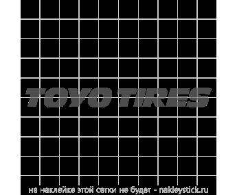 """Наклейка """"Toyo Tires"""" на лобовое стекло"""