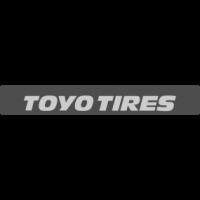 """Наклейка полоса """"Toyo Tires"""" на лобовое стекло 130 х 18 см"""