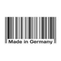"""Наклейка на авто """"Сделано в Германии. Штрих-код"""""""