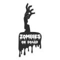 "Наклейка на авто ""Zombies on board"""