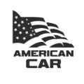 """Наклейка на авто """"Американский автомобиль"""""""