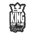 """Наклейка на авто """"Король дороги"""""""